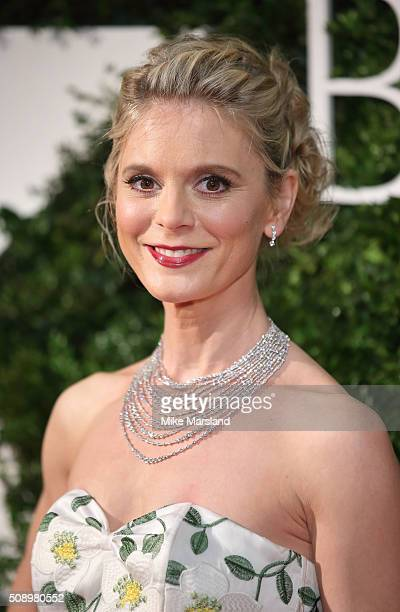 Emilia Fox attends the London Evening Standard British Film Awards at Television Centre on February 7 2016 in London England