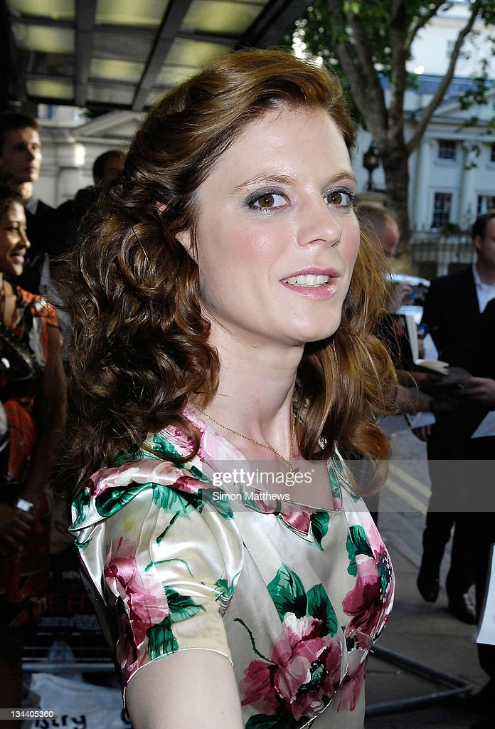 Emilia Fox attends the London premiere of 'The Edge Of Love' on June 19 2008 at Curzon in London England