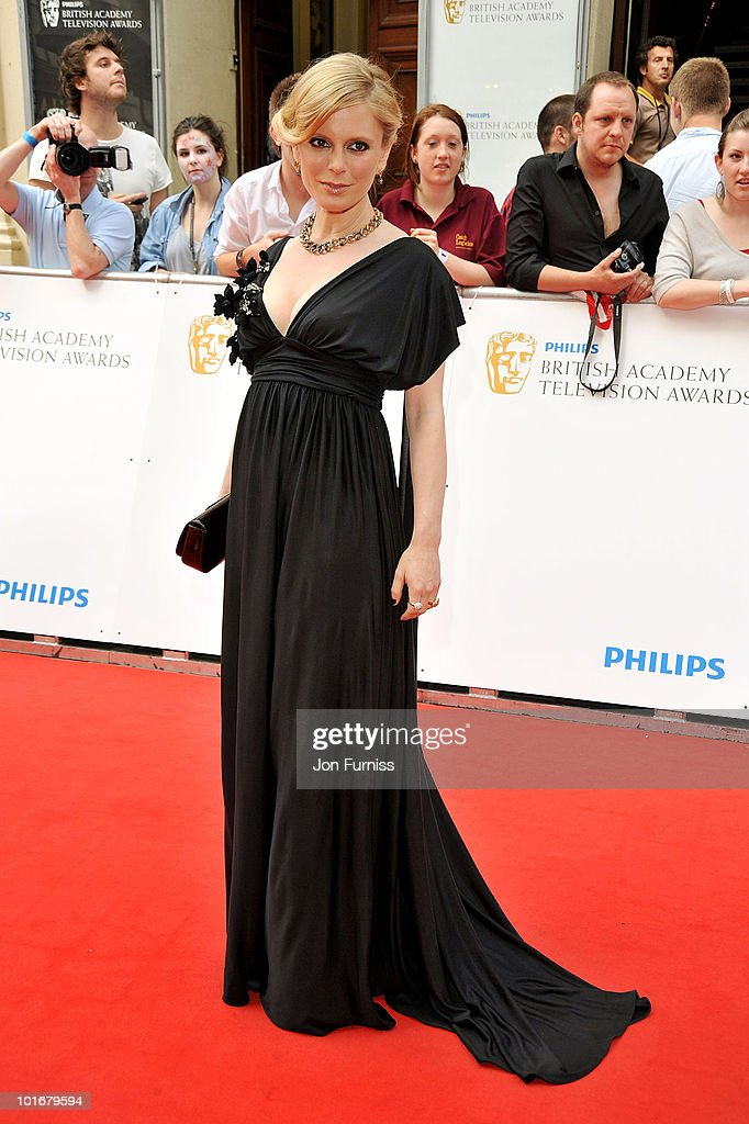 Emilia Fox attends the Philips British Academy Television Awards at London Palladium on June 6 2010 in London England
