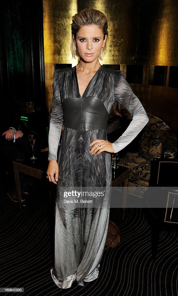 Emilia Fox attends the Pre-BAFTA Party hosted by EE and Esquire ahead of the 2013 EE British Academy Film Awards at The Savoy Hotel on February 6, 2013 in London, England.