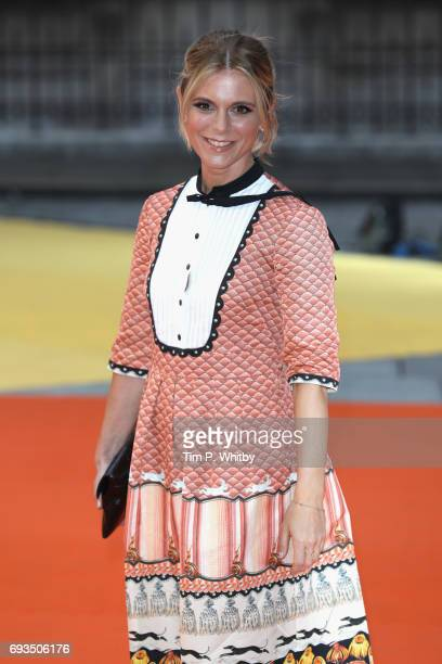 Emilia Fox attends the preview party for the Royal Academy Summer Exhibition at Royal Academy of Arts on June 7 2017 in London England