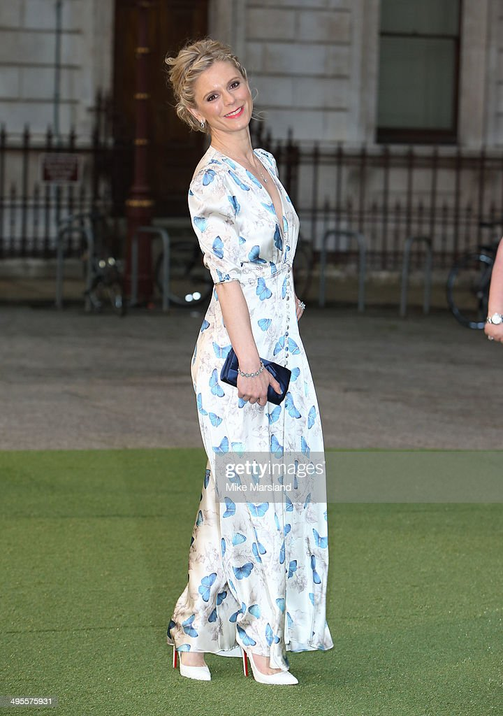 Emilia Fox attends the Royal Academy Summer Exhibition Preview Party at Royal Academy of Arts on June 4 2014 in London England