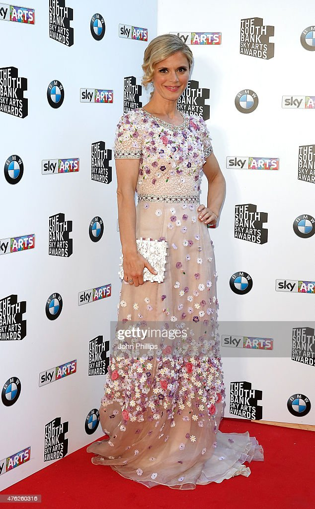 Emilia Fox attends the South Bank Sky Arts Awards at The Savoy Hotel on June 7 2015 in London England