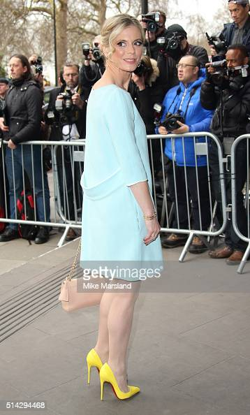 Emilia Fox attends the TRIC Awards at Grosvenor House Hotel at The Grosvenor House Hotel on March 8 2016 in London England