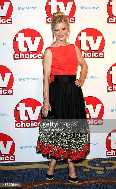 Emilia Fox attends the TV Choice Awards 2015 at Hilton Park Lane on September 7 2015 in London England