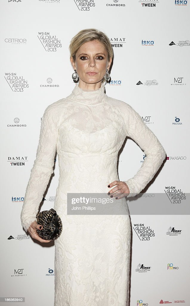 <a gi-track='captionPersonalityLinkClicked' href=/galleries/search?phrase=Emilia+Fox&family=editorial&specificpeople=210768 ng-click='$event.stopPropagation()'>Emilia Fox</a> attends the WGSN Global Fahsion awards at Victoria & Albert Museum on October 30, 2013 in London, England.