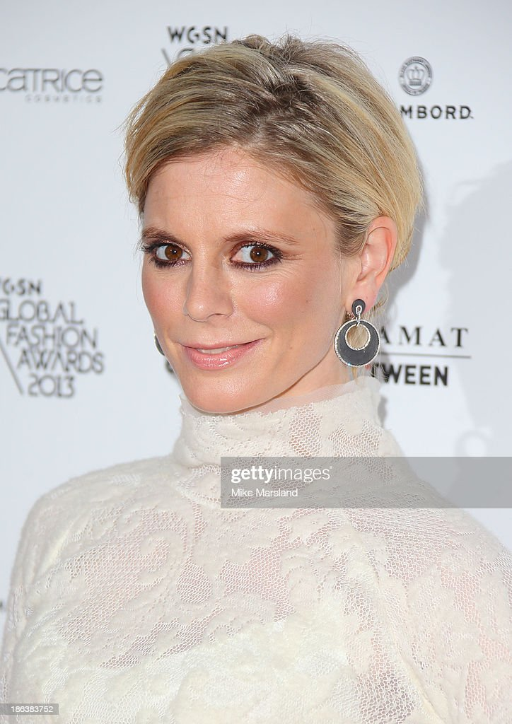 Emilia Fox attends the WGSN Global Fahsion awards at Victoria & Albert Museum on October 30, 2013 in London, England.