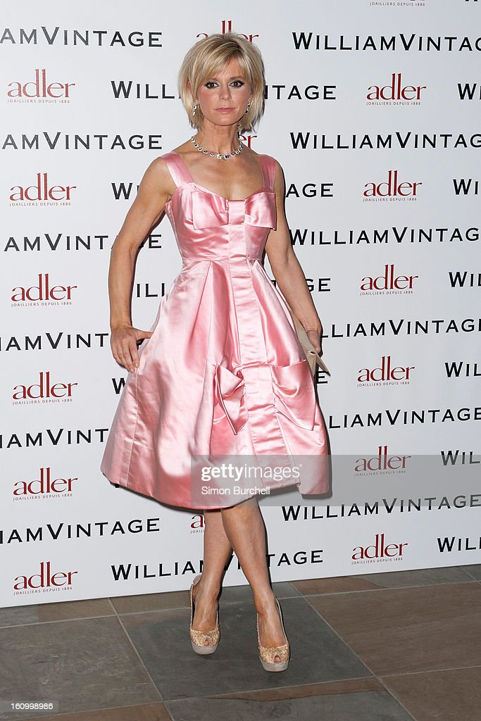 Emilia Fox attends the WilliamVintage Dinner Sponsored By Adler at St Pancras Renaissance Hotel on February 8, 2013 in London, England.