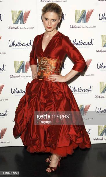 Emilia Fox during Whitbread Book of the Year Award 2005 at The Brewery in London Great Britain