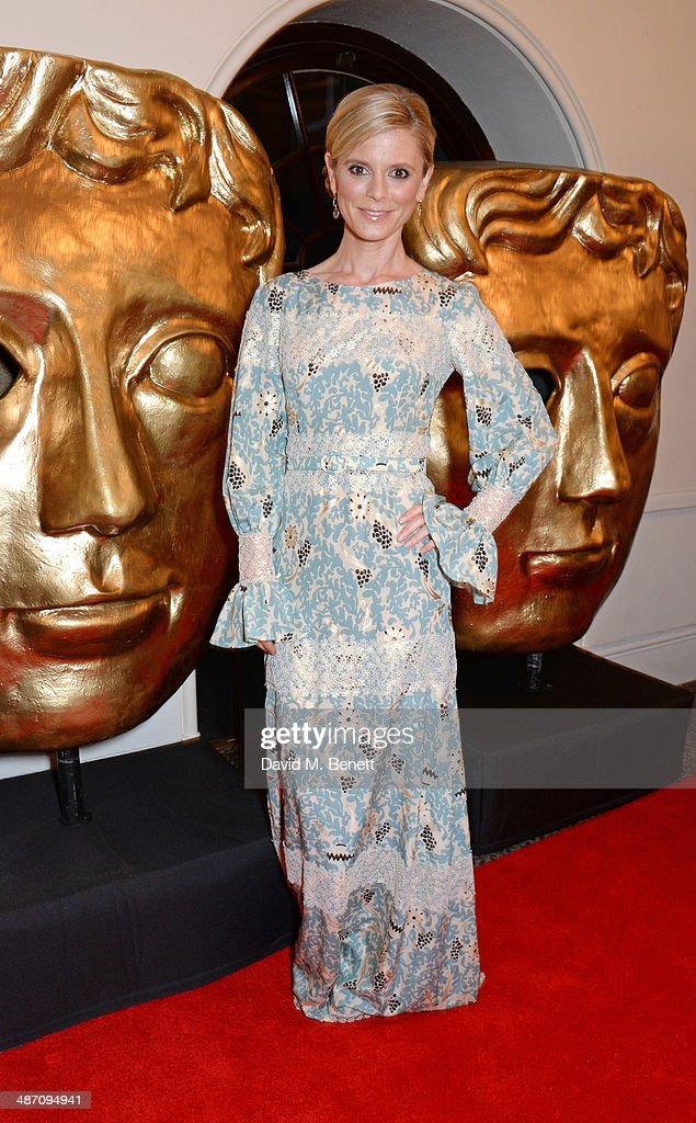 Emilia Fox poses in the press room at the BAFTA Television Craft Awards at The Brewery on April 27 2014 in London England