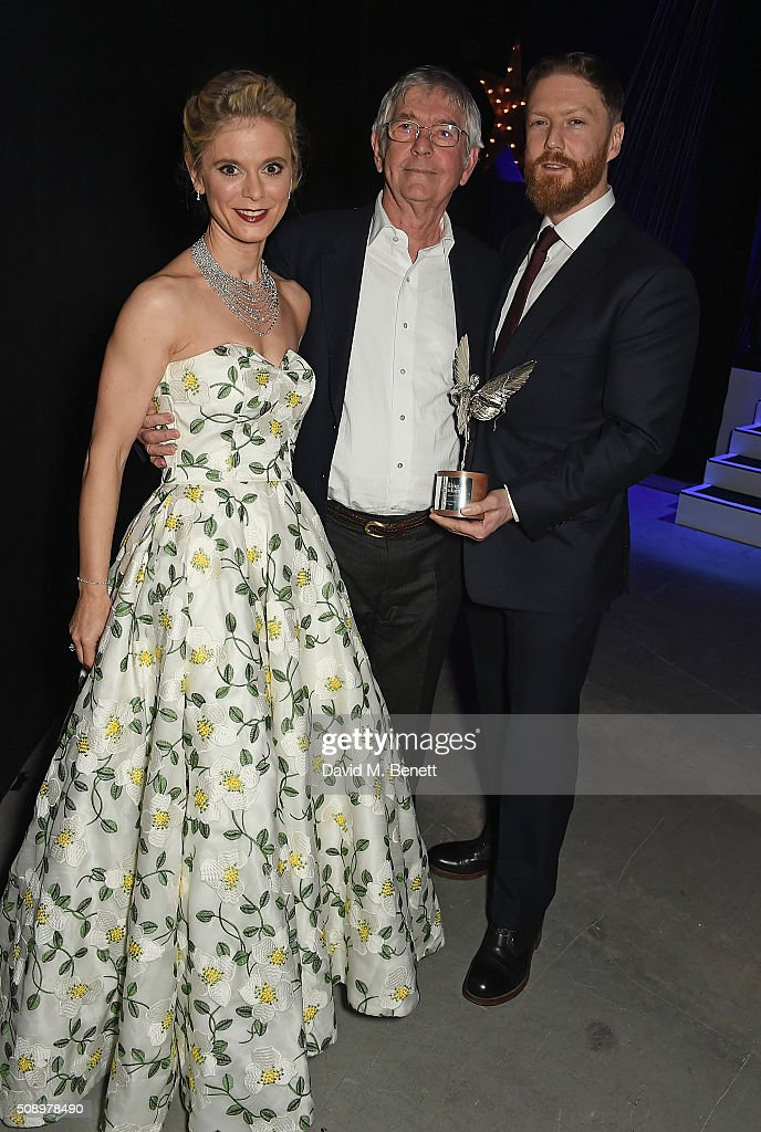 <a gi-track='captionPersonalityLinkClicked' href=/galleries/search?phrase=Emilia+Fox&family=editorial&specificpeople=210768 ng-click='$event.stopPropagation()'>Emilia Fox</a>, Sir <a gi-track='captionPersonalityLinkClicked' href=/galleries/search?phrase=Tom+Courtenay&family=editorial&specificpeople=699230 ng-click='$event.stopPropagation()'>Tom Courtenay</a> and <a gi-track='captionPersonalityLinkClicked' href=/galleries/search?phrase=Tristan+Goligher&family=editorial&specificpeople=7877656 ng-click='$event.stopPropagation()'>Tristan Goligher</a> attend the London Evening Standard British Film Awards at Television Centre on February 7, 2016 in London, England.