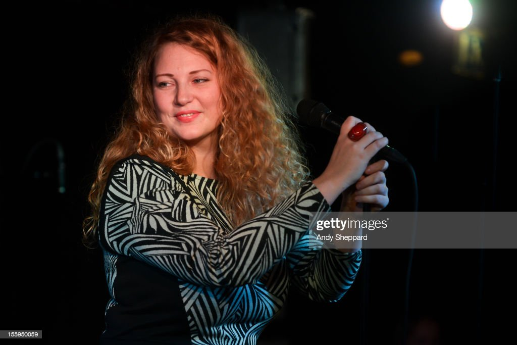 Emilia Martensson performs on stage at Pizza Express Jazz Club during the London Jazz Festival 2012 on November 9, 2012 in London, United Kingdom.