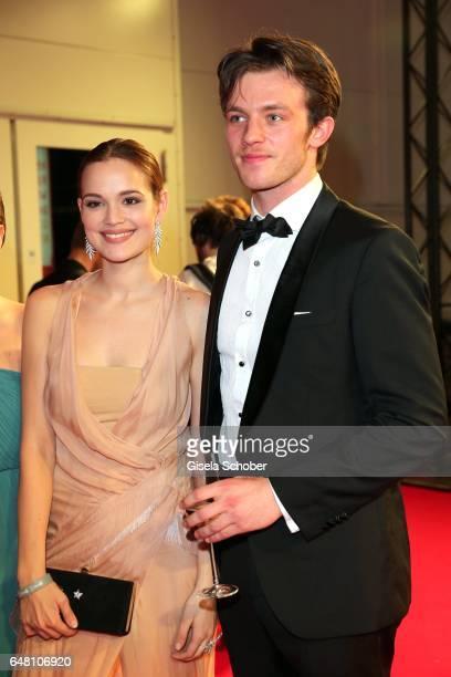 Emilia Schuele and Jannis Niewoehner during the Goldene Kamera reception at Messe Hamburg on March 4 2017 in Hamburg Germany