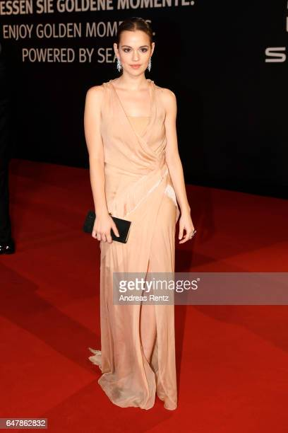 Emilia Schuele arrives for the Goldene Kamera on March 4 2017 in Hamburg Germany