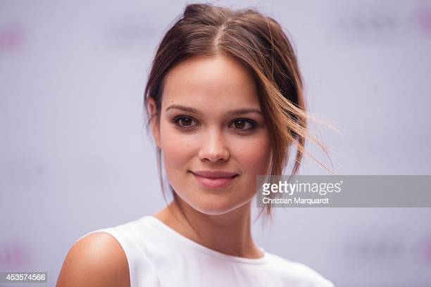Emilia Schuele attends the Audi Classic Open Air at Kulturbrauerei on August 13 2014 in Berlin Germany