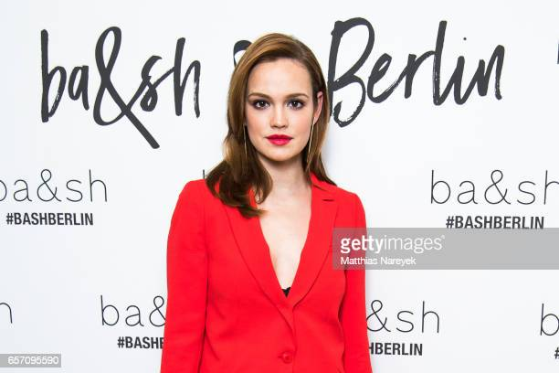 Emilia Schuele attends the BaSh store opening on March 23 2017 in Berlin Germany