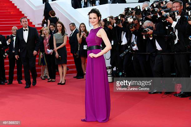 Emilia Schuele attends the 'How To Train Your Dragon 2' premiere during the 67th Annual Cannes Film Festival on May 16 2014 in Cannes France