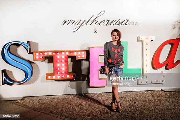 Emilia Schuele attends the mytheresacom x Stella Mc Cartney pre Oktoberfest on September 18 2014 in Munich Germany