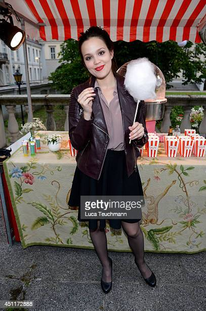 Emilia Schuele attends the Secret Garden Party hosted by Edited at Schinkel Pavillon on June 24 2014 in Berlin Germany