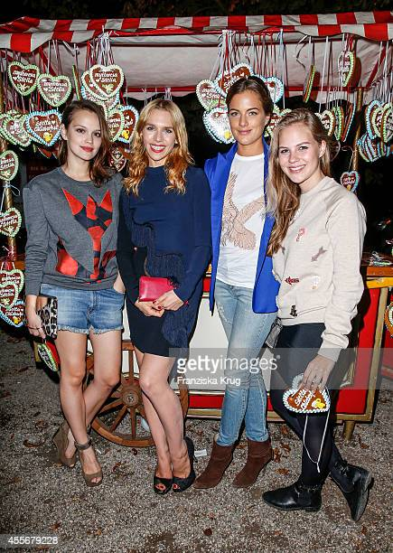 Emilia Schuele Julia Dietze Cleo von Adelsheim and Alica von Rittberg attend the mytheresacom x Stella Mc Cartney pre Oktoberfest on September 18...