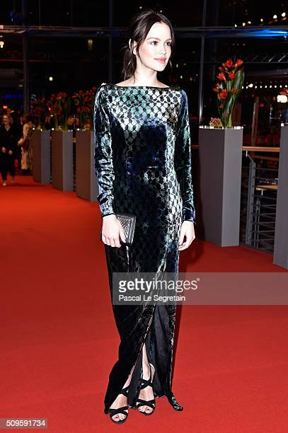 Emilia Schule attends the 'Hail Caesar' premiere during the 66th Berlinale International Film Festival Berlin at Berlinale Palace on February 11 2016...
