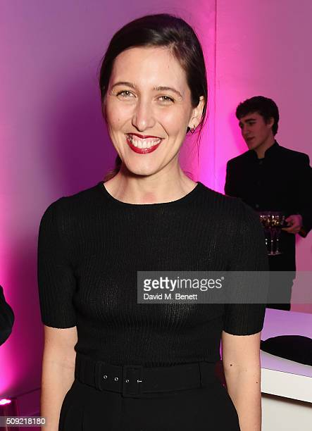 Emilia Wickstead attends a private view of 'Vogue 100 A Century of Style' hosted by Alexandra Shulman and Leon Max at the National Portrait Gallery...