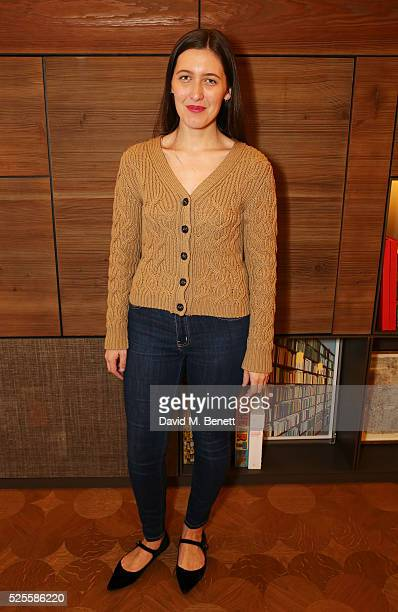 Emilia Wickstead attends the BFC Fashion Trust x Farfetch cocktail reception on April 28 2016 in London England