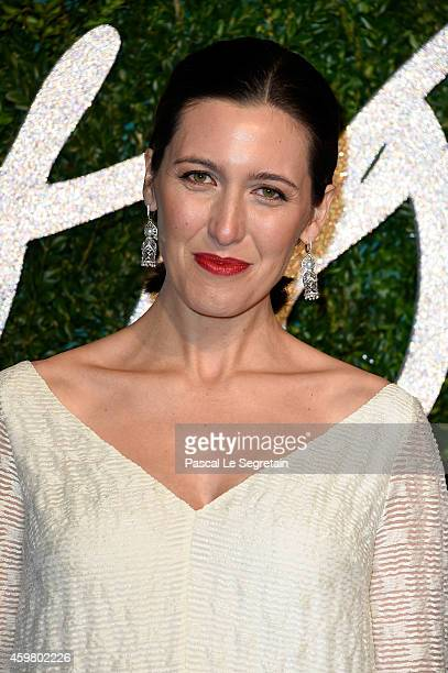 Emilia Wickstead attends the British Fashion Awards at London Coliseum on December 1 2014 in London England