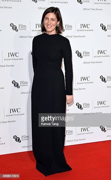 Emilia Wickstead attends the IWC Gala dinner in honour of the BFI at Battersea Evolution on October 7 2014 in London England