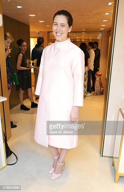 Emilia Wickstead attends the opening of the Charlotte Olympia Brompton Cross store on June 25 2015 in London England