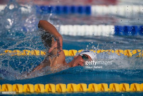 Emiliano Brembilla of Italy during the Men's 400 metres freestyle event at the European Swimming Championships on 26 July 1999 at the Atakoy Olympic...