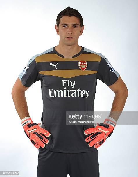 Emiliano Martinez of Arsenal at Emirates Stadium on July 28 2015 in London England
