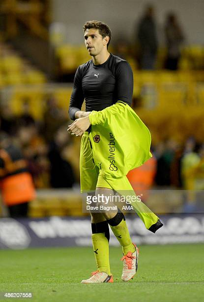 Emiliano Martinez of Wolverhampton Wanderers during the Capital One Cup match between Wolverhampton Wanderers and Barnet at Molineux on August 25...
