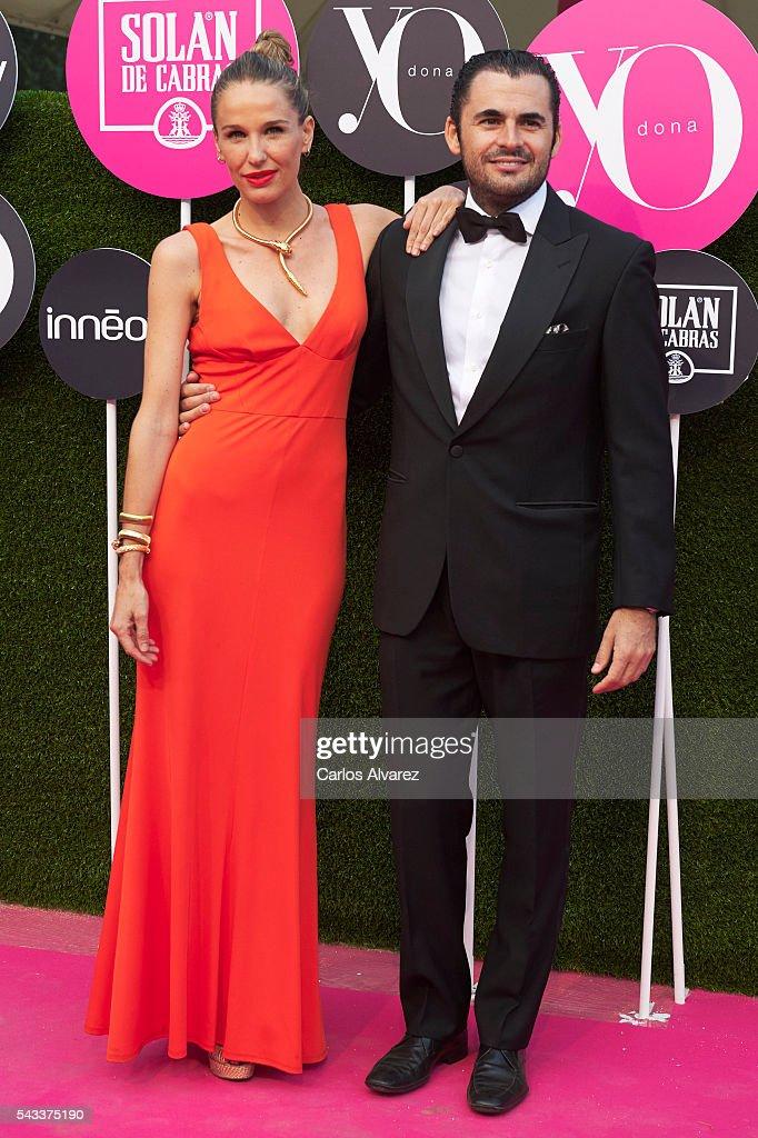 Emiliano Suare and Carola Baleztena attend 'Yo Dona' International awards on June 27, 2016 in Madrid, Spain.