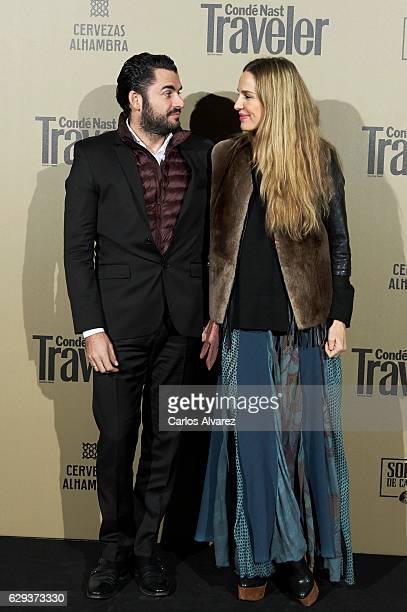 Emiliano Suarez and Carola Baleztena attend Conde Nast Traveler 2017 Gastronomic Guide presentation at the Royal Theater on December 12 2016 in...