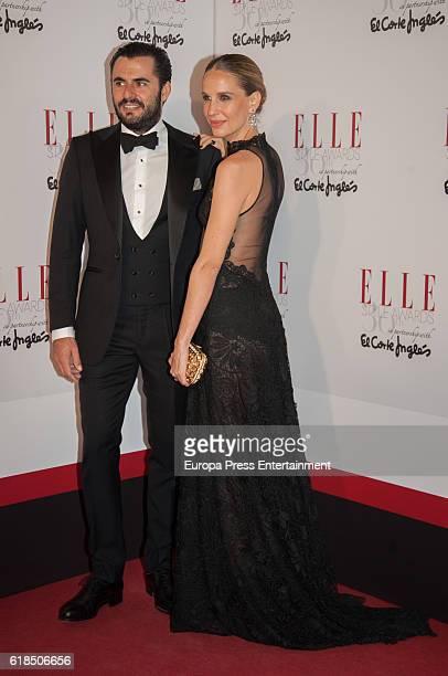 Emiliano Suarez and Carola Baleztena attend 'Elle Magazine' Awards 30th Anniversary at Circulo de Bellas Artes on October 26 2016 in Madrid Spain