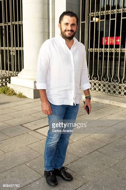 Emiliano Suarez attends the Sting concert at the Royal Teather on July 5 2017 in Madrid Spain