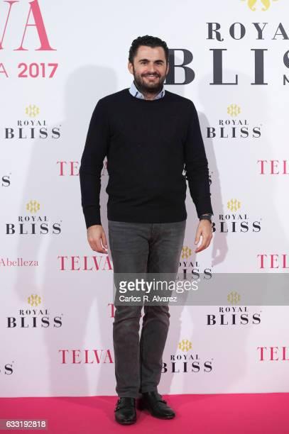 Emiliano Suarez attends the 'Telva Beauty' awards 2016 at the Palace Hotel on January 31 2017 in Madrid Spain
