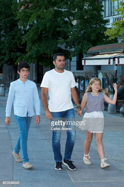 Emiliano Suarez attends the Zucchero concert at the Royal Teather on July 25 2017 in Madrid Spain