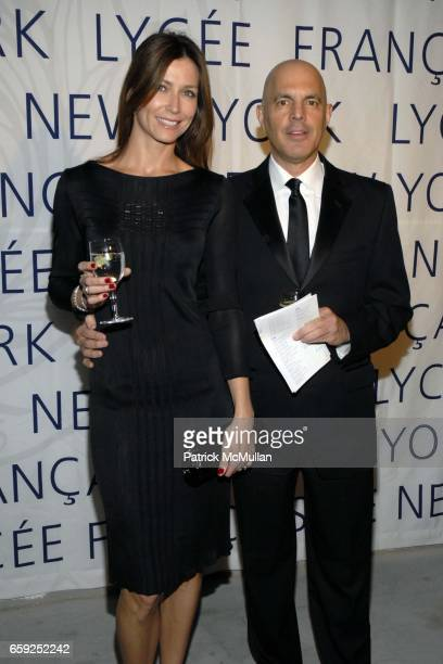 Emilie Bosak and Manuel Asensio attend LYCEE FRANCAIS DE NEW YORK Celebrates its 10th Gala at 7 World Trade Center on February 6 2009 in New York City