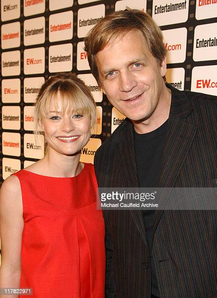 Emilie de Ravin and Rick Tetzeli managing editor of Entertainment Weekly