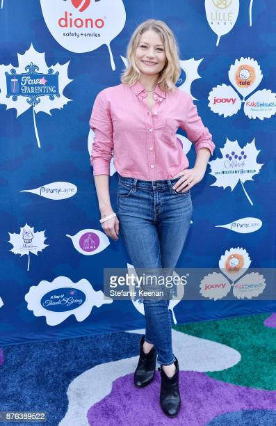 Emilie de Ravin attends Diono Presents Inaugural A Day of Thanks and Giving Event at The Beverly Hilton Hotel on November 19 2017 in Beverly Hills...