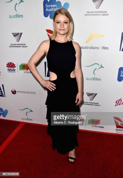 Emilie de Ravin attends the 6th Annual Australians in Film Award Benefit Dinner at NeueHouse Hollywood on October 18 2017 in Los Angeles California