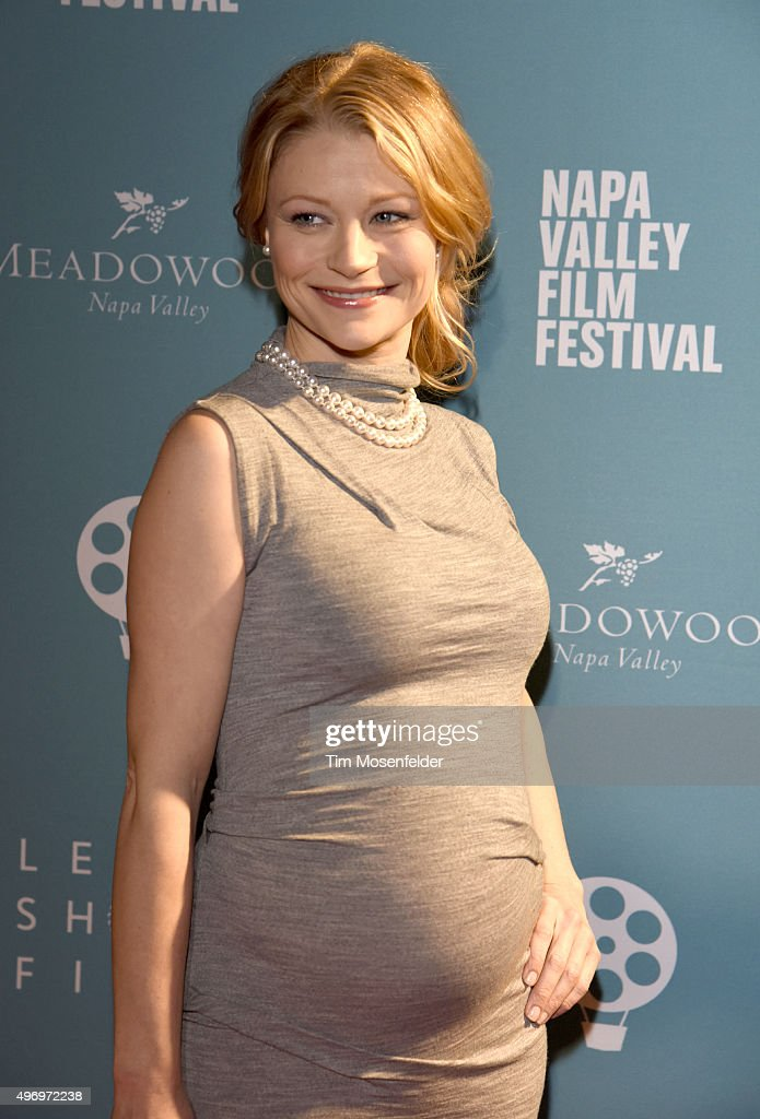 Emilie de Ravin attends the Napa Valley Film Festival Gala at the Lincoln Theater on November 12, 2015 in Yountville, California.