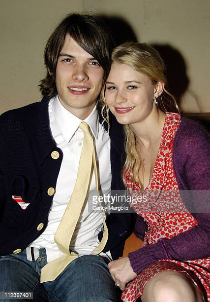 Emilie de Ravin of 'Lost' and Josh Janowicz
