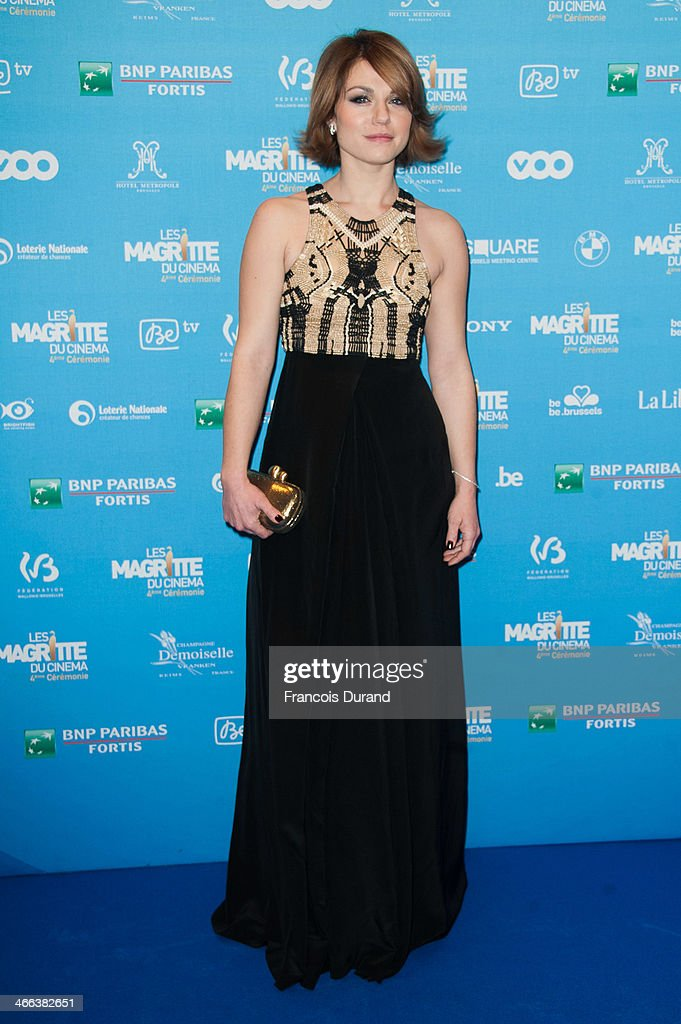 Les Magritte Du Cinema 2014 - Blue Carpet