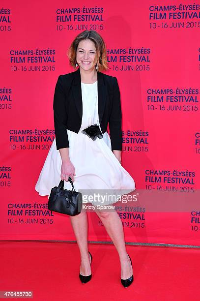 Emilie Dequenne attends the 4th Champs Elysees Film Festival Opening Ceremony and Valley of Love Premiere at Publicis Champs Elysees on June 9 2015...