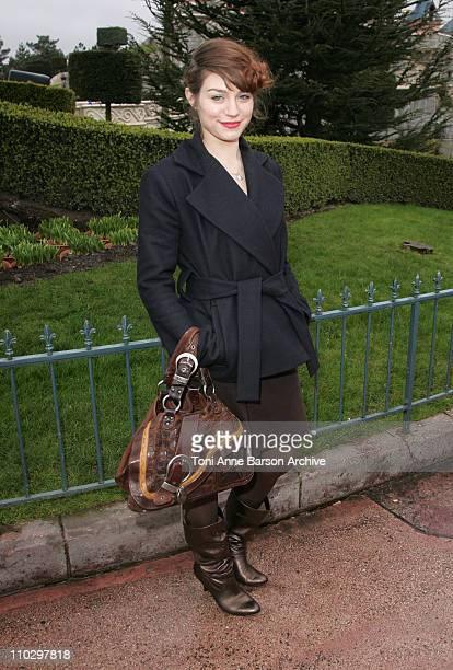 Emilie Dequenne during Disneyland Paris 15th Anniversary Celebration at Disneyland Paris in MarneLaVallee / Paris France