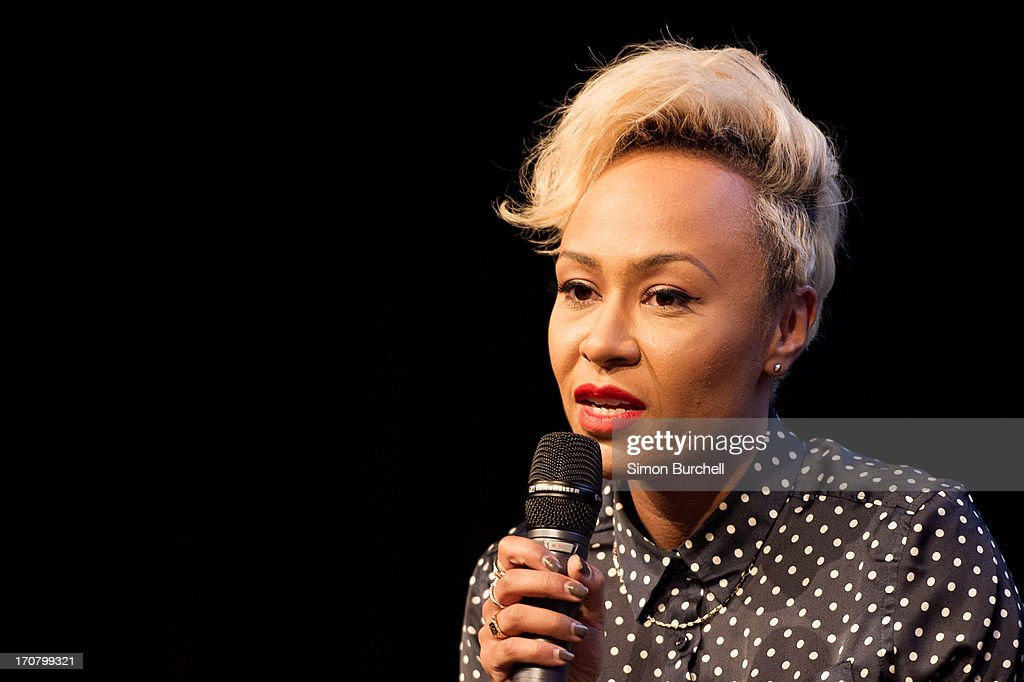 Emilie Sande attends a photocall to accounce 'Unity - A Concert for Stephen Lawrence' at Abbey Road Studios on June 18, 2013 in London, England.