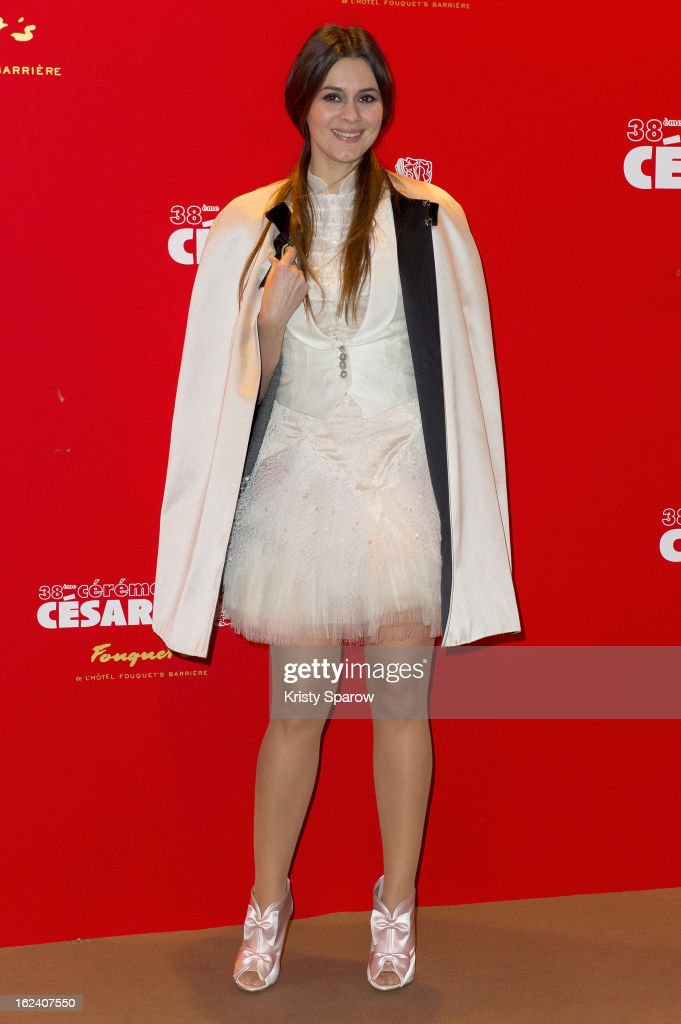 Emilie Simon attends the Cesar Film Awards 2013 at Le Fouquet's on February 22, 2013 in Paris, France.